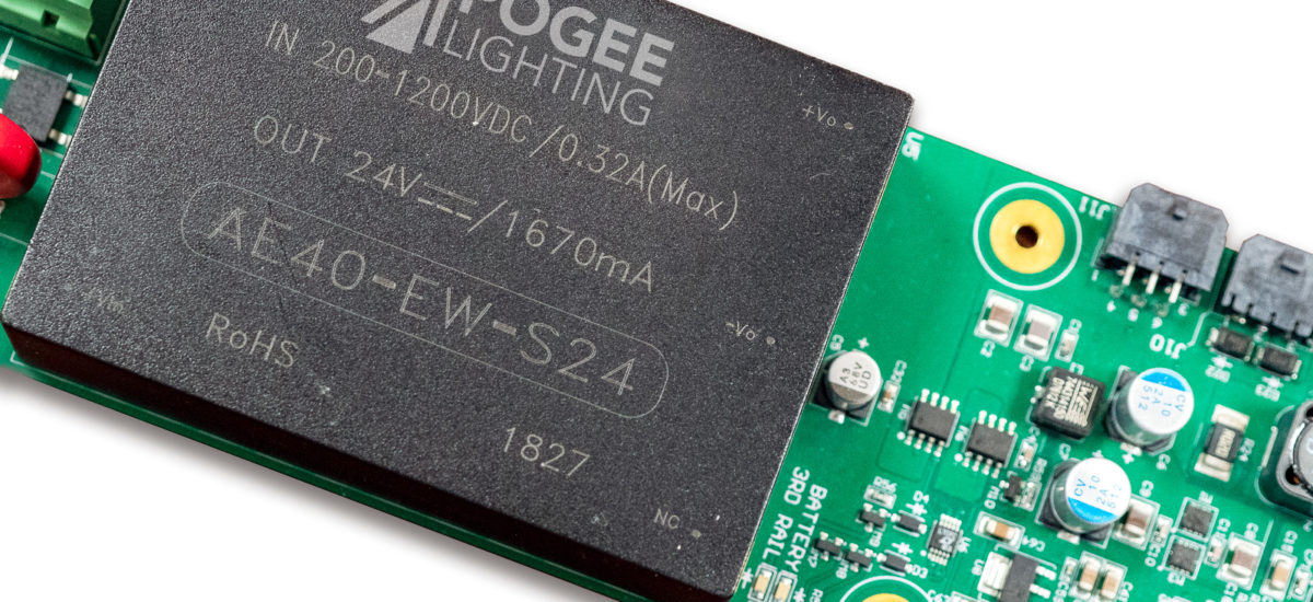 Hybrid EM Technology made by Apogee Lighting