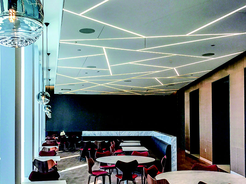 Silhouette® Linear Lighting System made by Apogee Lighting