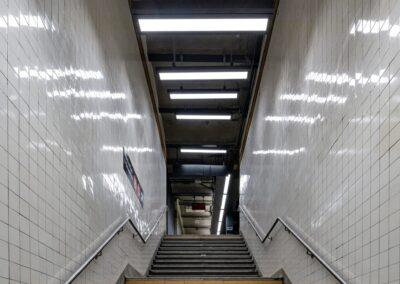 167-174 St Subway Stations, NYC | Photo © Harry Vitebski | Image is Property of Apogee Lighting Holdings