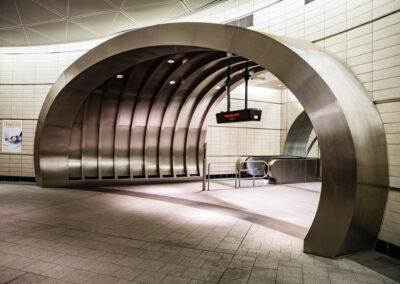 34th St Hudson Yards Subway Station, NYC | Photo © Harry Vitebski | Image is Property of Apogee Lighting Holdings