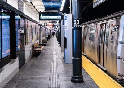 53 St Subway Stations, Brooklyn, NY | Photo © Harry Vitebski | Image is Property of Apogee Lighting Holdings