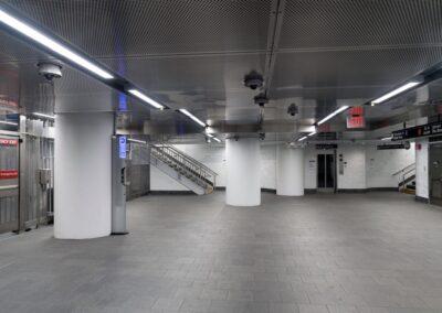 Cortlandt Street Subway Station, NYC   Photo © Harry Vitebski   Image is Property of Apogee Lighting Holdings