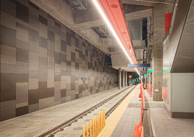 Seattle Train Station | Image is Property of Apogee Lighting Holdings